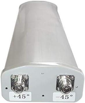 2.4GHz 802.11bgn 15dBi Sector MIMO WiFi Antenna 2xN Female