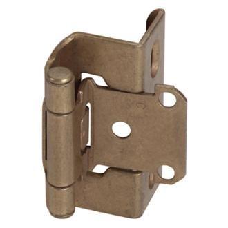 Amerock CM7540BB SelfClosing Full Wrap QTY Cabinet Hinge,