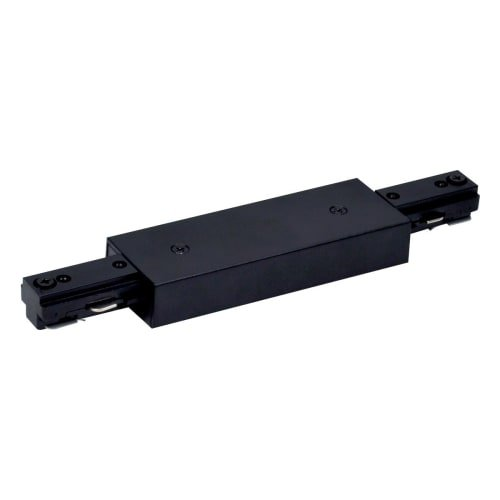 Nora Track Light NT-312B - Black - I-Connector - Single Circuit - Compatible with Halo Track - Single Circuit Track Connector