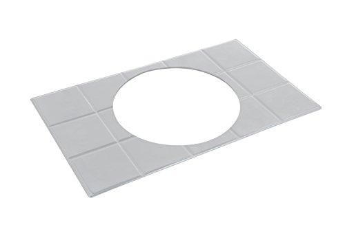 Bon Chef 52016PG EZ Fit Aluminum/Pewter Glo Custom Cut Tile, Full Size for 1 Soup Tureen, 20-13/16