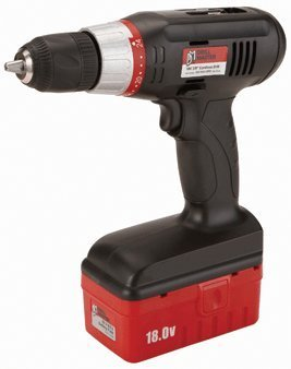 "Drill Master 18 Volt Cordless 3/8"" Drill with Keyless Chuck"