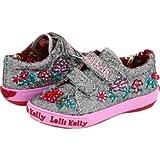 Lelli Kelly LK9531 Pretty Velcro Pewter (27)