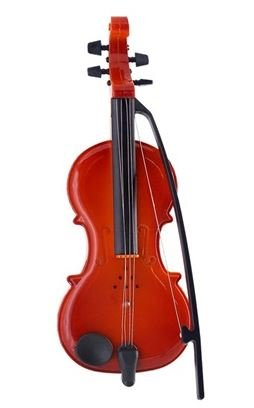 Mini ABS Musical Instrument Violin Toy (Brown) by Ozone48