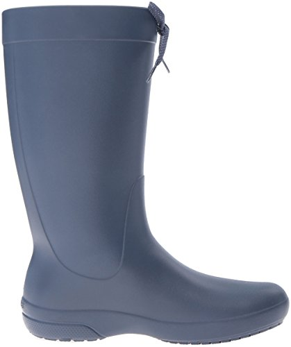 Navy Bleu Boot Rain Pluie Bottes Freesail de Crocs Femme w80OqW
