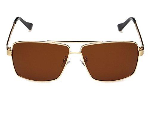 Heartisan Vintage Rectangular Polarized Driving Anti-UV Sunglasses for - 70s Sunglasses Men