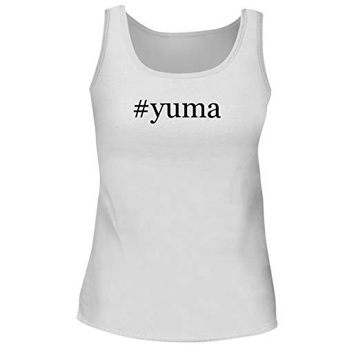 BH Cool Designs #Yuma - Cute Women's Graphic Tank Top, White, Medium (Best Of Yuma Asami)
