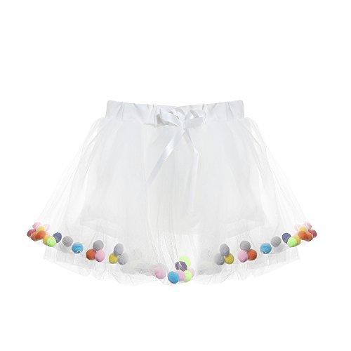 Blevet Petite Fille Sans Manches Imprimé Robe Tutu 1er Anniversaire Tutu Set 3