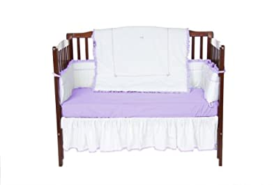 Baby Doll Unique Crib Bedding Set Lavender from Baby Doll