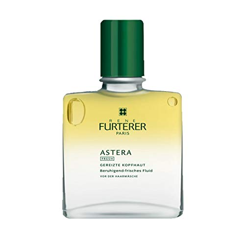 Rene Furterer ASTERA FRESH Soothing Freshness Fluid, Pre-Shampoo Detox, Irritated & Itchy Scalp, 1.6 -