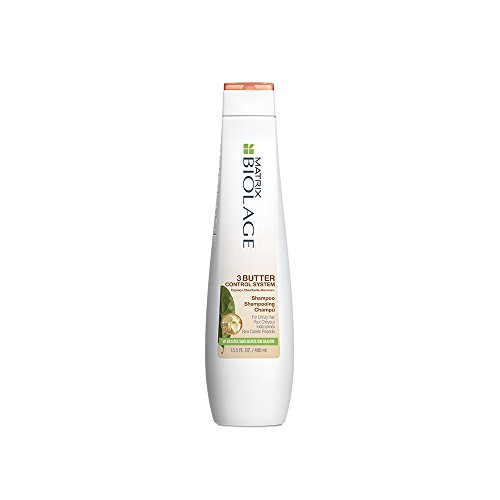BIOLAGE 3Butter Control System Shampoo For Unruly Hair, Sulfate Free, 13.5 Fl. - Systems Matrix Label
