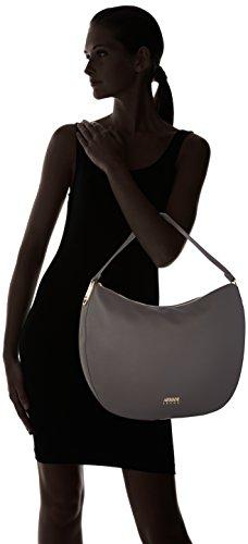 Armani Borsa Hobo - Shoppers y bolsos de hombro Mujer Gris (Antracite)
