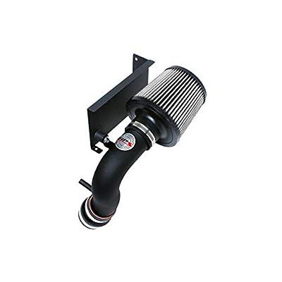 HPS Performance 827-544WB Black Shortram Air Intake Kit with Heat Shield Cool Ram, 1 Pack: Automotive