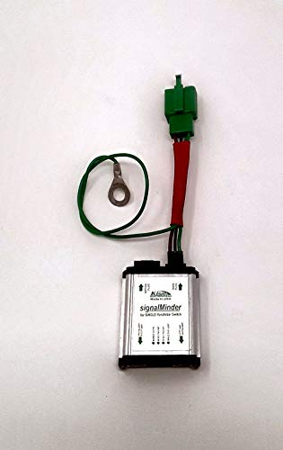 Image of Turn Signal Canceling Motorcycle Relay SM-3 - Programmable 4-Way Flash,