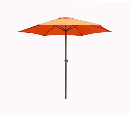 7.5' Outdoor Patio Market Umbrella with Hand Crank