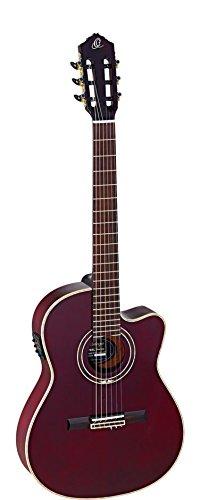 Ortega Guitars FEEL SERIES 6 String Acoustic-Electric Guitar (RCE138-T4STR)