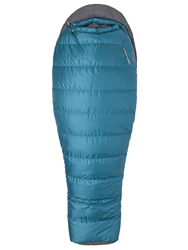 Marmot Lozen 30 Women's Lightweight Sleeping Bag, 30-Degree Rating, Late Night/Steel Onyx