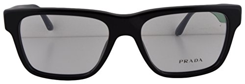 Prada PR 16RV Eyeglasses 51-16-140 Black 1AB-1O1 VPR16R For Women (FRAME - Style Sunglasses Prada Wayfarer