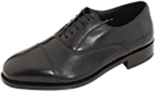 Florsheim Men's Edgar Cap Toe Oxford Black Leather Oxford 15
