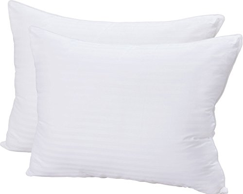 Utopia Bedding Super Plush Gel-Fiber 3D Hollow Siliconized Material Queen size Filled Pillows, Pack of 2