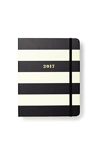 kate spade new york Conceal Sprial 2016-17 Medium Agenda, Black - Medium Agenda