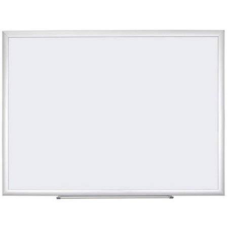 U Brands Dry Erase Board, Silver Aluminum Frame 47'' X 35'' (Melamine Surface) by U Brands