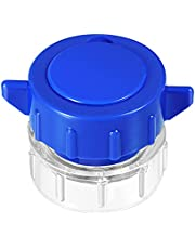ULTNICE Pill Crusher 1Pcs Vitamins Grinder Pill Pulverizer Medicine Splitter Cutter Tablets Storage Cutting Box (Blue)