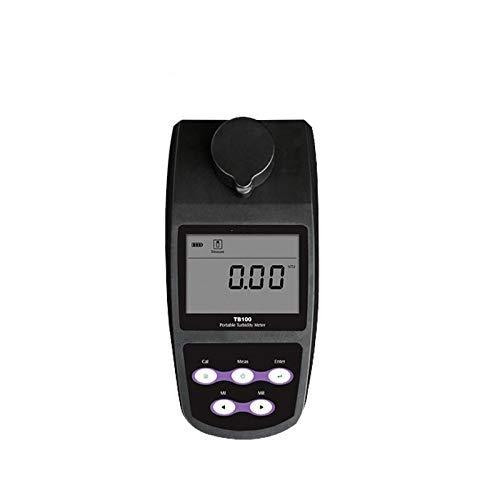 Medidor de turbidez digital portátil, con calibración de 2 a 5 puntos