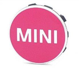 BMW ミニ MINI 純正OEM ホイール センター キャップ ピンク 4個セット [並行輸入品] B0769FMX4Z