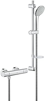 Turbo GROHE 34437000 | Grohtherm 1000 Cosmopolitan M Shower Set: Amazon OI95