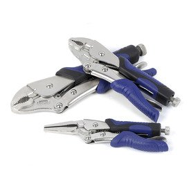 - Kobalt 3-piece Locking Pliers Set