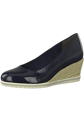 Tamaris 1-22441-20 Womens Court Shoes Wedges Blue EK0On