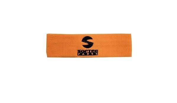 Cinta Pelo Softee Padel - Color Naranja Fluor: Amazon.es: Deportes ...