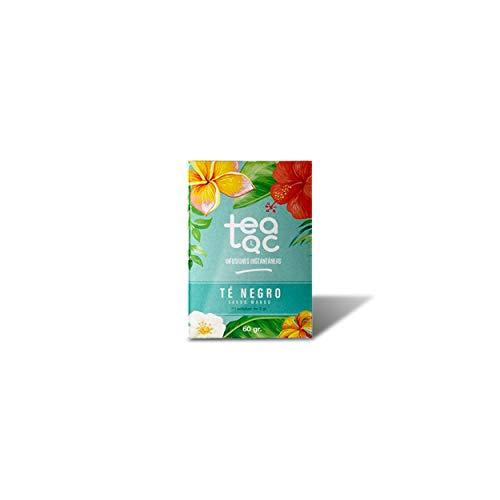 LA TETERA AZUL Te Negro Frio Sabor Mango Infusion Fria En Polvo Tea Tac Caja Con 20 Sobres