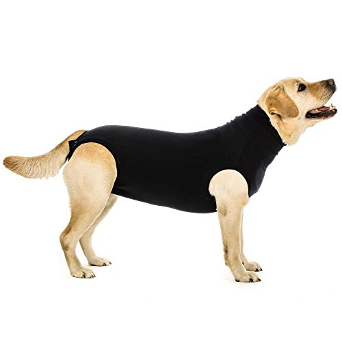 Suitical Recovery Suit Dog, Medium, Black