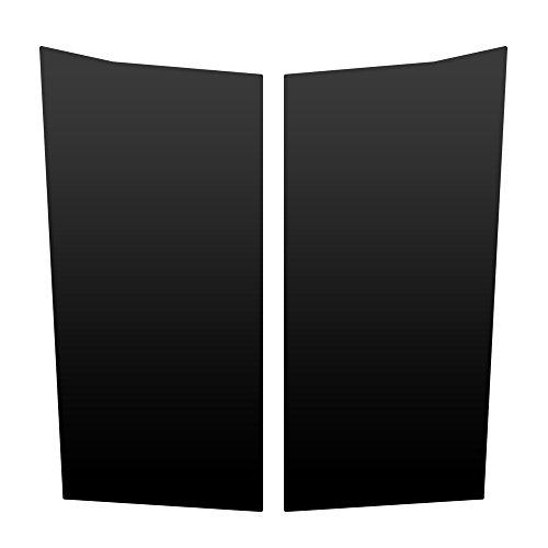Auto Vynamics - JEP-301-MBLA - Matte Black Vinyl Hood Decal Kit - Jeep Grand Cherokee ZJ - Mirrored Pair - (2) Piece Complete Kit
