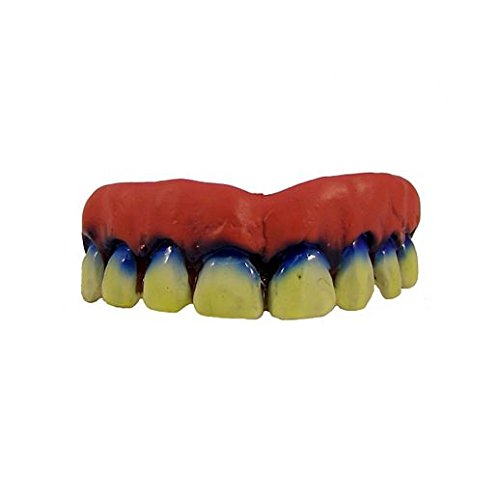 Fancy Face Paint Color Halloween Wicked Clown Teeth