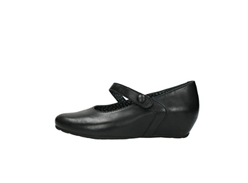 20000 Mary Confort Black De Tournevis La Wolky Leather Janes YwZ5dyq