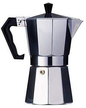 Amazon.com: Aluminio Estilo Cubano Cafetera 12 Tazas ...