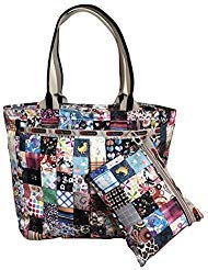- LeSportsac LePatch Everygirl Tote + Cosmetic Bag (Exclusive Anniversary Print)