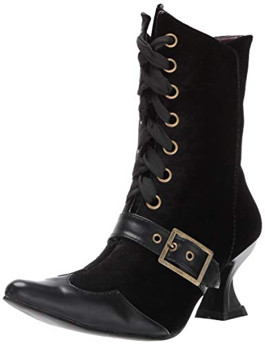 Ellie Shoes Women's 301-TABBY Mid Calf Boot, Black, 8 M -