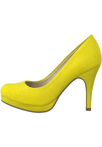 Women's Tamaris Yellow Platform 22407 Heels 14470p