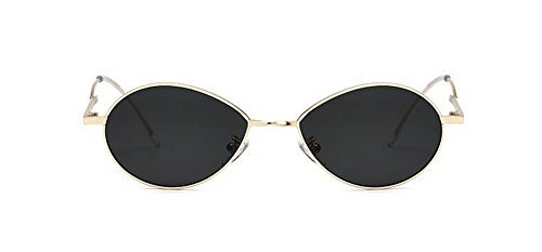 polarisées en Film vintage retro lunettes inspirées du Lennon Noir cercle soleil style de rond métallique zqEwfqg