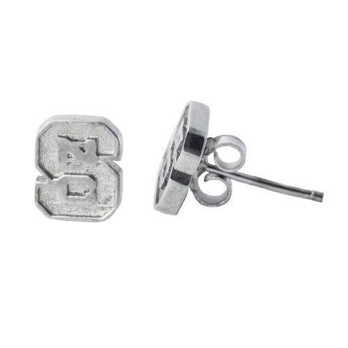 Sterling Silber NC State Post Ohrringe von Dayna U