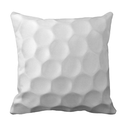 Dimple Pattern - Newhomestyle Throw Pillow Cover Golf Ball Dimples Texture Pattern Decorative Pillow Case Sports Home Decor Square Cushion Pillowcase 18x18 inches