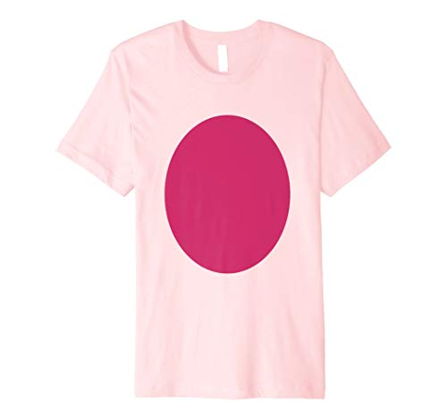 Pig Belly Costume - Funny Pink Pig Halloween Costumes Premium T-Shirt