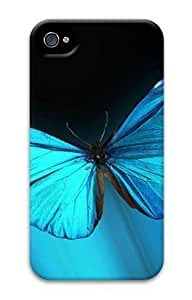 Iphone 4 4s 3D PC Hard Shell Case Vista Morpho by Sallylotus by supermalls