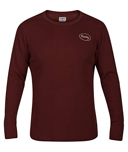 Hurley - Mens Stitch Thermal Long Sleeve T-Shirt, Size: X-Large, Color: Pueblo Brown ()