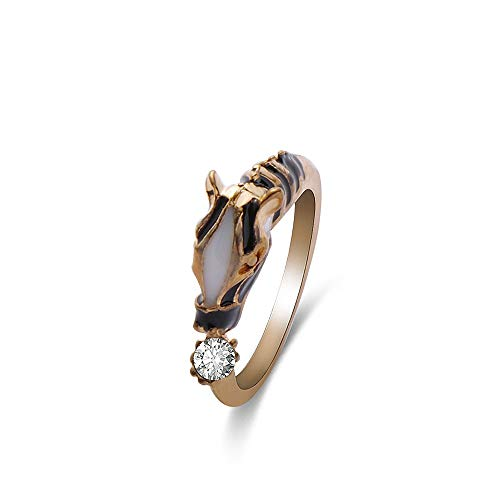 Idlespace Horse Head Ring Women