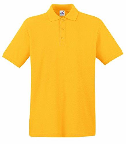 F511N Premium Polo, Farbe:Sunflower;Größen:3XL 3XL,Sunflower