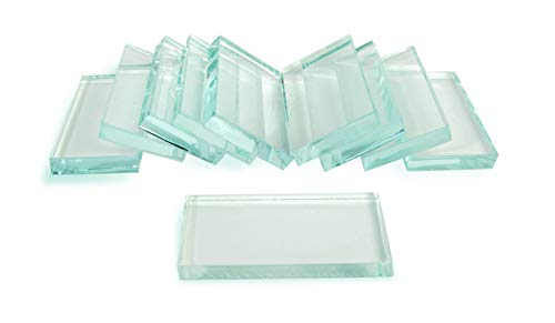 American Educational Glass Streak Plates Kit, 1/4 Thickness (Pack of 10)